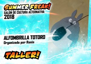 Taller Alfombrilla Totoro